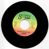 SALE ITEM - Luciano - Ancient Memories / version (Super 100) JA 7""